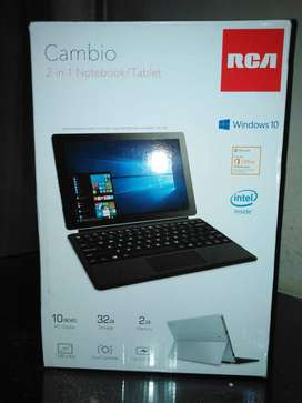 CAMBIO 2 IN 1 NOTEBOOK/TABLET
