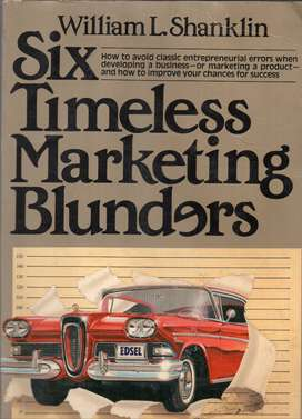 Six Timeless Marketing Blunders