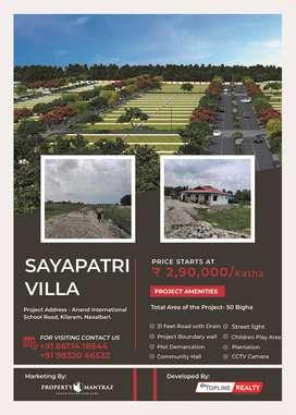 Registered Plots For Sale in Sayapatri Villa In Siliguri - Naxalbari