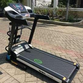 Treadmill elektrik osaka doble deck ( awet dan bergaransi)