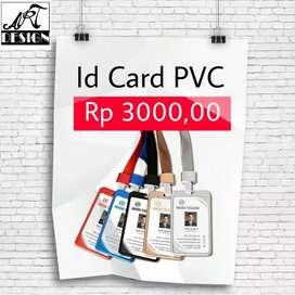 Id Card bahan PVC