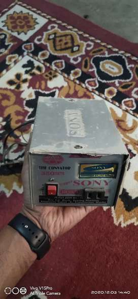 sony convator 350 watts for sell