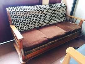 Stylish Sofa Set (Teak wood)