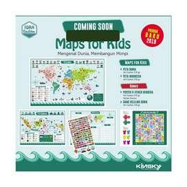 Maps for kids peta dunia anak anak