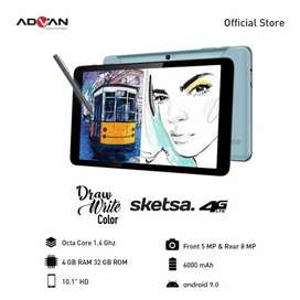 New Tab Advan sketsa ram 4gb grs resmi, Bs kredit/Bs tt