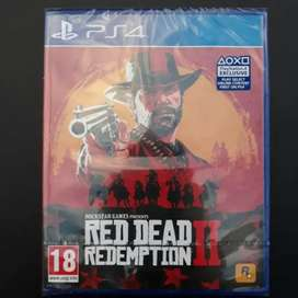 NEW Read dead redemtion 2 PS4 CD