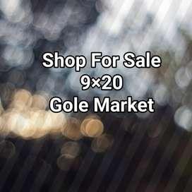 Shop for sale in gole Market. Double storey