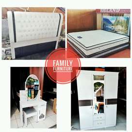 Bed Set Full White / Paket Hantaran Nikah