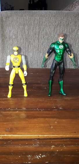 Action figure power rangers dan dc