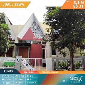 Disewakan rumah Baru Gress di Permata Jingga Soekarno Hatta Malang