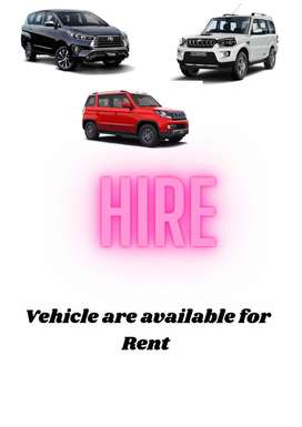All type of vehicle avaible for hire