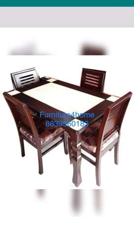 Wooden dining table teak wood and delivery free