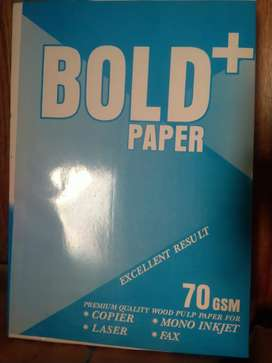 Bold Plus Paper 365/-Rs