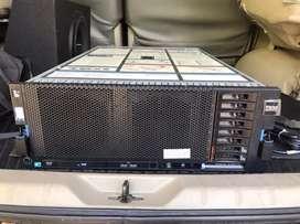 Server IBM X3850 X5 4U 4 CPU XEON 32GB RAM 2 x 300GB-SAS RAID