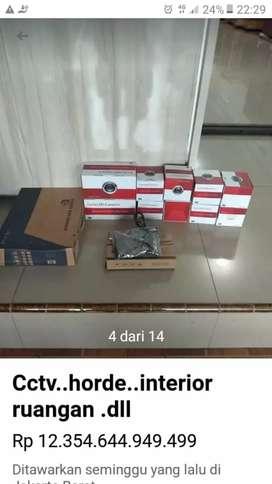 Paket cctv kumplit//paket plus intalasi