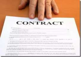 Contract base jobs in govt sector