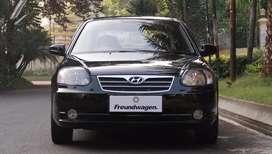 Hyundai Avega GX Liftback 2010 Facelift Manual Low KM Asli