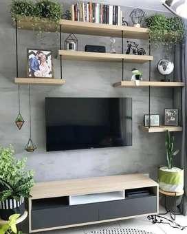 Meja tv industrial meja tv minimalist rak tv murah meja rak modern