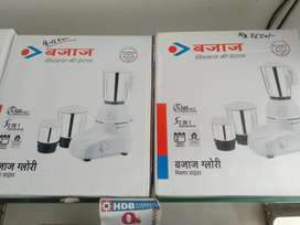 Bajaj glory 500watt mixer 3year warranty home service