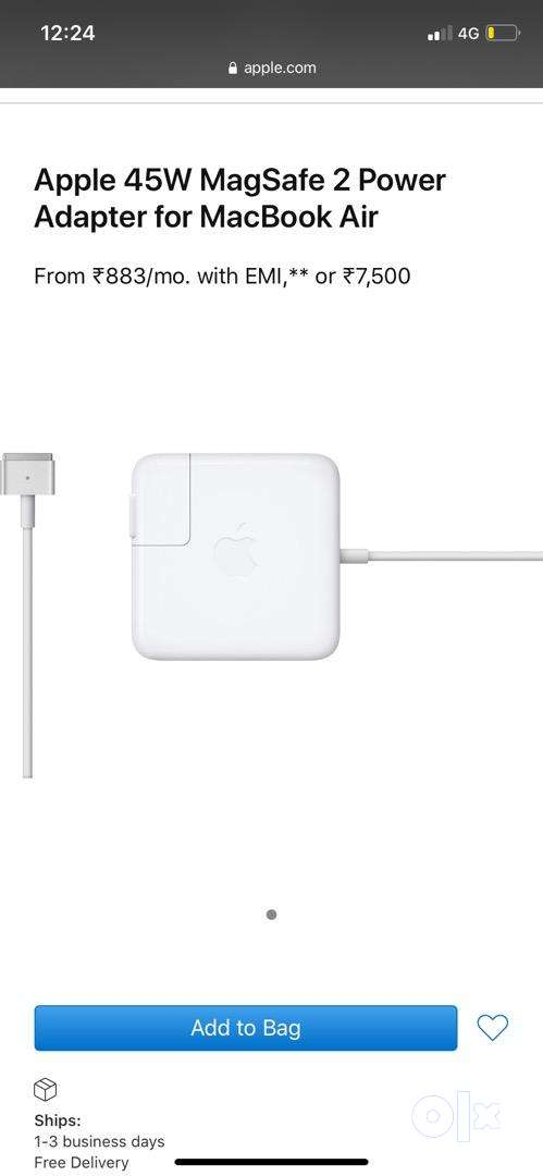 Macbook air charger 0