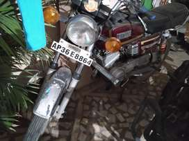 Yamaha rx 135.. Single owner.. Original papers available..