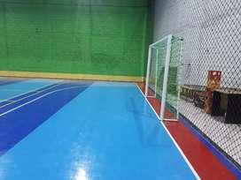 Spesialist lapangan futsal seindonesia dengan lantai interlock, vinil,