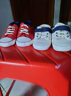 Sepatu 2pasang brand mothercare bisa nego