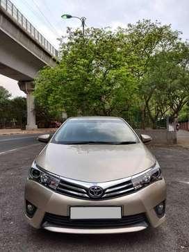 Toyota Corolla Altis 2013-2017 VL AT, 2015, Petrol