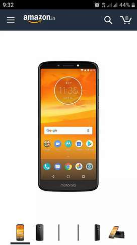 Moto e5plus with bill box accessories totally not used