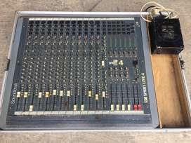 mixer soundcraft spirit live 4 12 ch