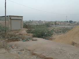 Arz Muhammad Goth Commercial Plot 400 fit Road