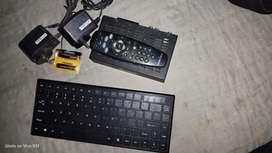Wireless key board & Tata sky set top box