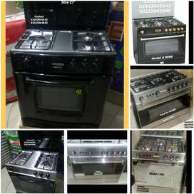 Affordable Cooking range 3&5 stoves with oven auto & manual system