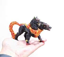 Action Figure CERBERUS Monster Godzilla Ultraman Miniatur Toy Mainan
