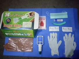 Hijama Cupping Therapy Kit Includes 10 Cups Gloves, Gun, Wipes & Surgi