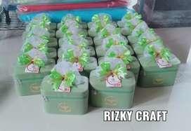 Souvenir Box Make Up Tenteng Super Best Seller Cantik Mewah Jogja