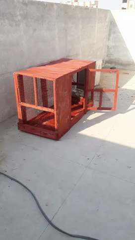 Cage used
