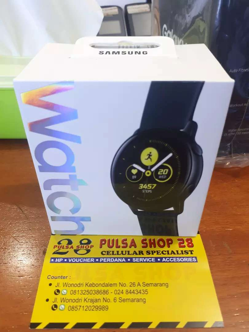 Promo Termurah Galaxy Watch Active Pulsa Shop 28 0
