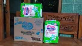 Popok Bayi merek merrise ukuran XXL, XL, L
