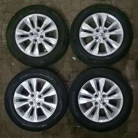 velg+ban 15 city bisa jazz sigra datsun mobilio freed splash brio vios