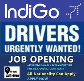 Urgently Required Drivers in Kerala Airports