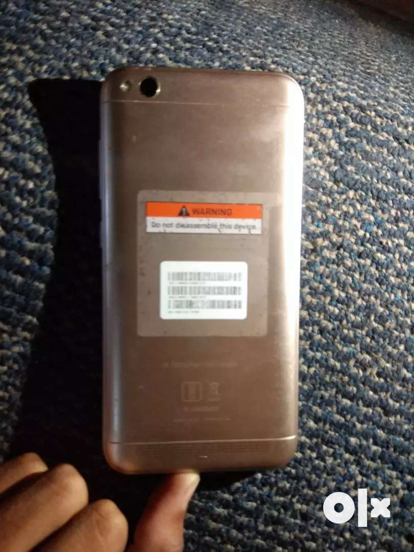 Redmi 5A  3/32 , Out Of Warranty , Very Good Condition , Full kit 0