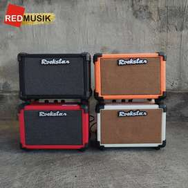 Ampli Gitar Rockstar 4inchi 10 watt Celan & Distortion