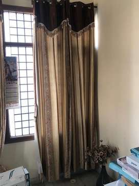 13 Curtains with lining @ just Rs3000
