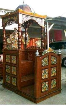 mimbar masjid kontruksi kuat