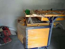 Semi automatic thermacol plate making machine