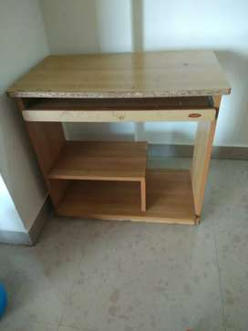 Study table or office tabel used