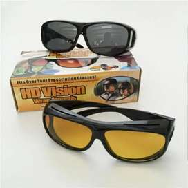 HD Vision Day and Night Glasses 2 PC's