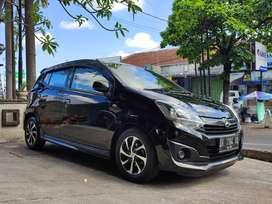 Daihatsu Ayla 1,2 X AT automatic 2019 hitam, asli bali