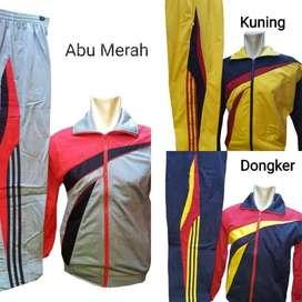 Seragam Jaket Training Olahraga Setelan Kaos Lari SKJ Fitness Jogging